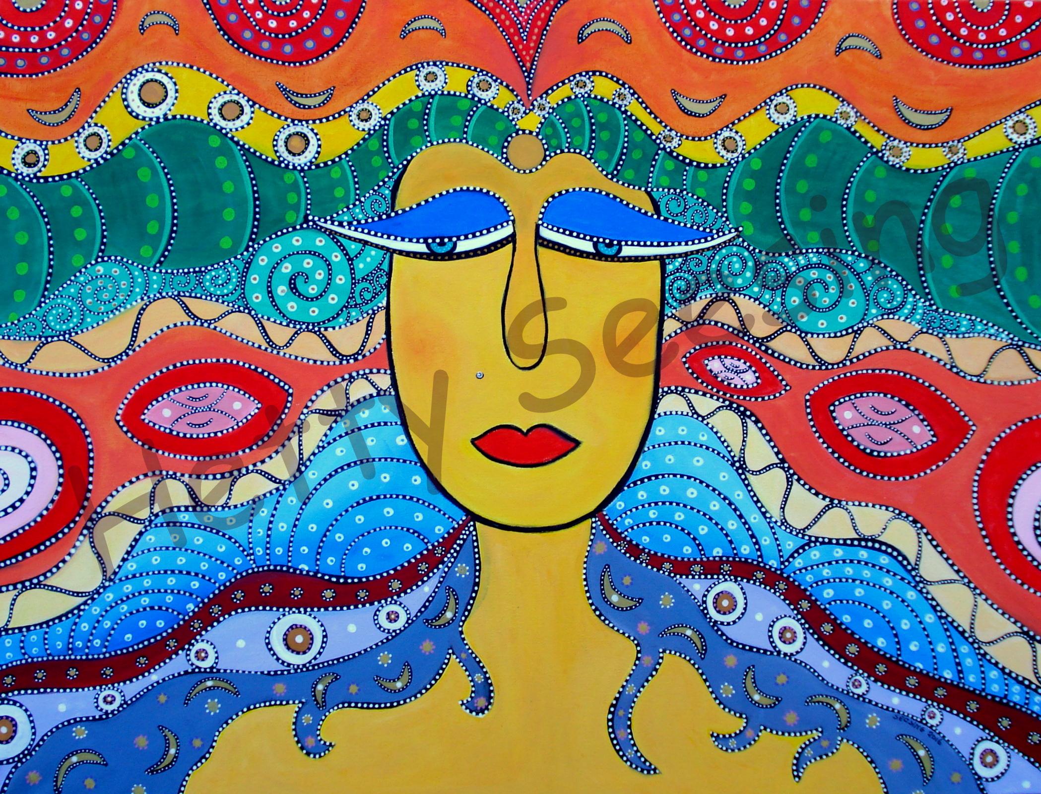 Psychedelisch - Hetty Seesing