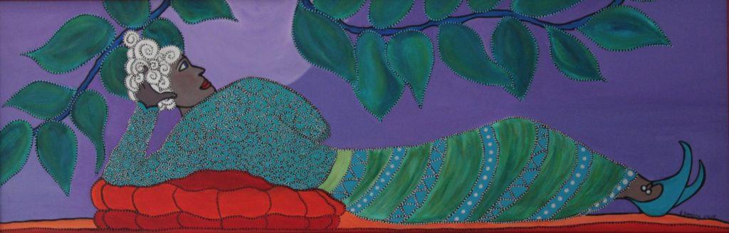 Purple Moon - Hetty Seesing